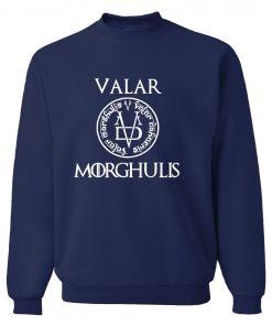 Game of Thrones Men Sweatshirts Valar Morghulis All Men Must Die Print Funny Mens Hoodies 2019 4