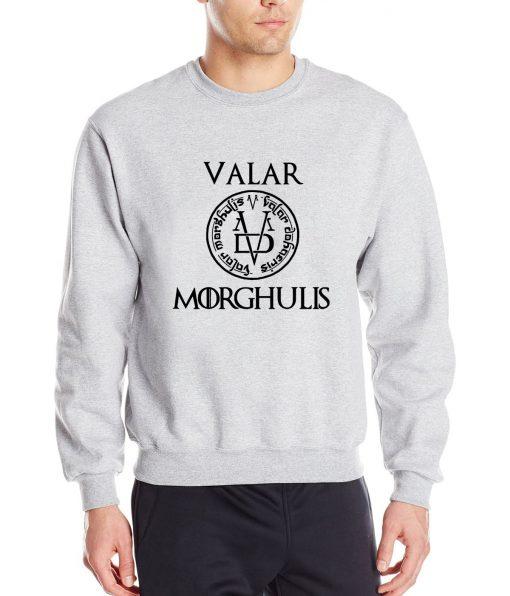 Game of Thrones Men Sweatshirts Valar Morghulis All Men Must Die Print Funny Mens Hoodies 2019