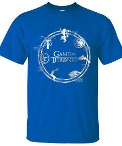 Game of Thrones Men T Shirt 2019 Summer Hip Hop Men Short Sleeve Shirt 100 Cotton 1