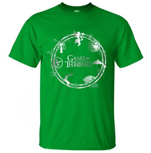 Game of Thrones Men T Shirt 2019 Summer Hip Hop Men Short Sleeve Shirt 100 Cotton 2