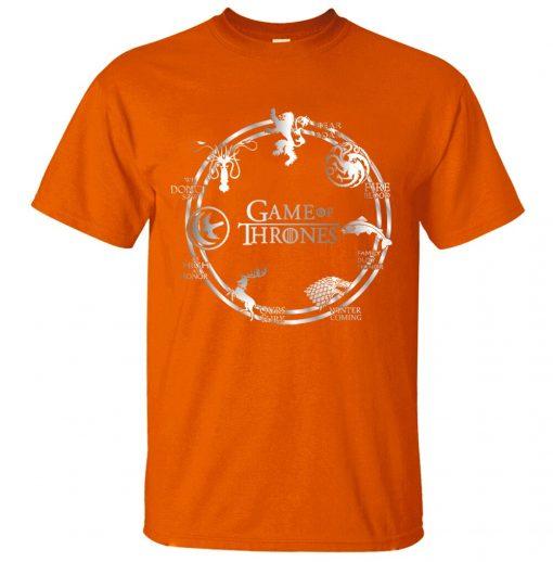 Game of Thrones Men T Shirt 2019 Summer Hip Hop Men Short Sleeve Shirt 100 Cotton 3