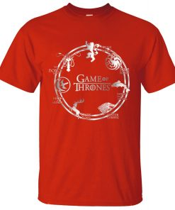 Game of Thrones Men T Shirt 2019 Summer Hip Hop Men Short Sleeve Shirt 100 Cotton 4
