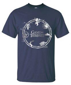 Game of Thrones Men T Shirt 2019 Summer Hip Hop Men Short Sleeve Shirt 100 Cotton 5