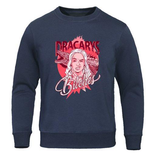 Game of Thrones Men s Fashion Hoodies Dragon Cool Print Sweatshirts Man Warm Spring Autumn Tracksuit 1
