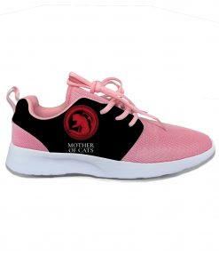Game of Thrones Mother of Cats Funny Fashion Cute Sport Running Shoes Lightweight Breathable 3D Printed 2