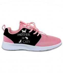 Game of Thrones Mother of Cats Funny Fashion Cute Sport Running Shoes Lightweight Breathable 3D Printed 4