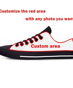 Game of Thrones Stark winter is coming Fashion Casual Canvas Shoes Low Top Lightweight Breathable 3D 5 scaled