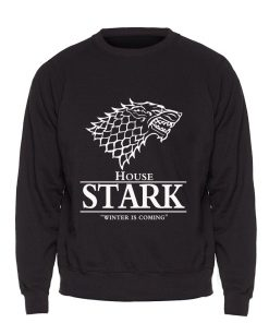 Game of Thrones Sweatshirt Men House Stark Hoodie A Song of Ice and Fire Crewneck Sweatshirts 2