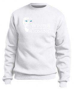 Game of Thrones Sweatshirt Men Winter Is Coming The Night King Hoodies Mens Swaetshirts Crewneck Hoodie 1