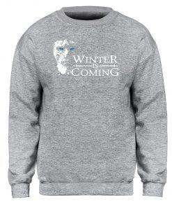 Game of Thrones Sweatshirt Men Winter Is Coming The Night King Hoodies Mens Swaetshirts Crewneck Hoodie