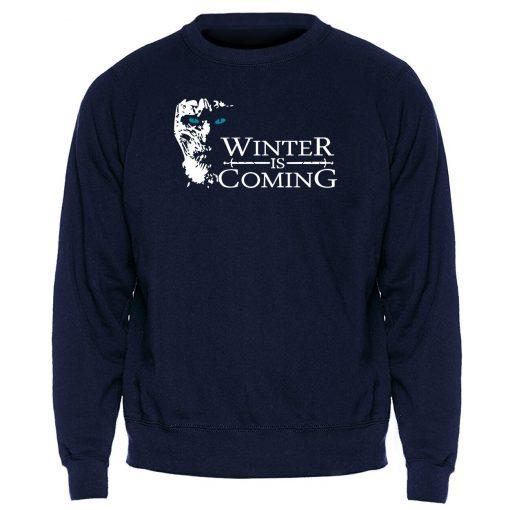 Game of Thrones Sweatshirt Men Winter Is Coming The Night King Hoodies Mens Swaetshirts Crewneck Hoodie 3