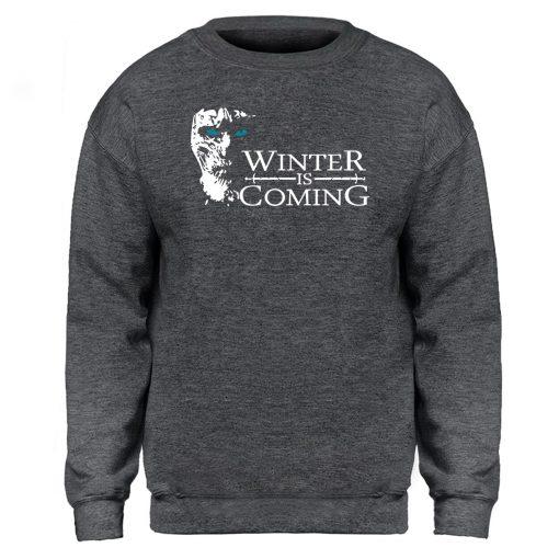 Game of Thrones Sweatshirt Men Winter Is Coming The Night King Hoodies Mens Swaetshirts Crewneck Hoodie 4