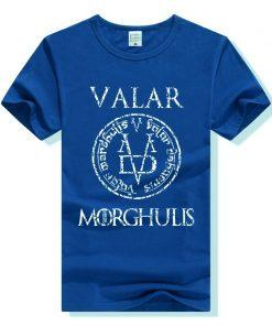 Game of Thrones Valar Morghulis T Shirt Men Women T Shirt Cotton Tshirt Clothing Summer Top 1