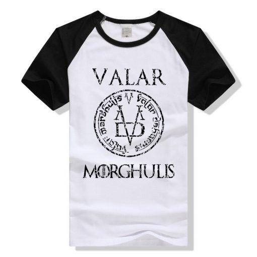 Game of Thrones Valar Morghulis T Shirt Men Women T Shirt Cotton Tshirt Clothing Summer Top 3