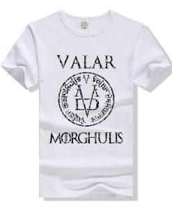 Game of Thrones Valar Morghulis T Shirt Men Women T Shirt Cotton Tshirt Clothing Summer Top 5
