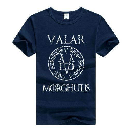 Game of Thrones Valar Morghulis T Shirt Men Women T Shirt Cotton Tshirt Clothing Summer Top