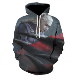 Game of thrones harajuku 3d men s hoodie Spring and autumn thin style hoodie pop Hot