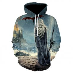 Game of thrones harajuku 3d men s hoodie Spring and autumn thin style hoodie pop Hot 3