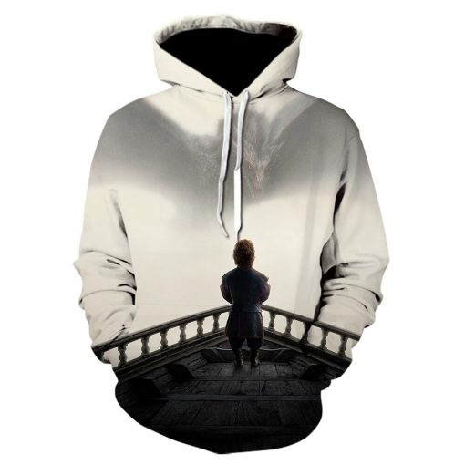 Game of thrones harajuku 3d men s hoodie Spring and autumn thin style hoodie pop Hot 4