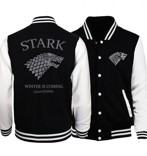 Games Of Thrones mens jacket 2017 spring autumn hoodies hip hop streetwear tracksuit brand clothing men 1