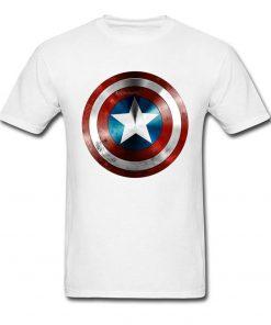 Get This Man A Shield T shirt Captain America T Shirt 3D Tops Tees Fashion Black 2