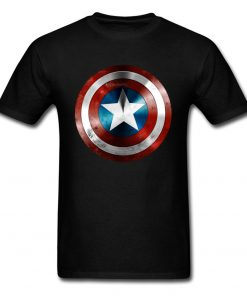 Get This Man A Shield T shirt Captain America T Shirt 3D Tops Tees Fashion Black