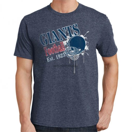 Giants Football T Shirt New York Sports 3176