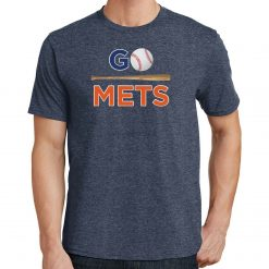 Go Mets T Shirt New York Baseball 2451