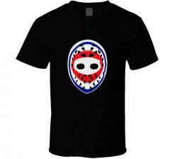 Goalie Mask Hockey Ken Dryden Montreal Canadiens Retro 1970s T shirt New From Cotton Fashion Men