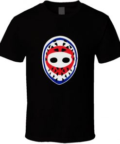 Goalie Mask Hockey Ken Dryden Montreal Canadiens Retro 1970s T shirt New From Cotton Fashion Men