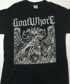Goatwhore Collapse In Eternal Worth Shirt Black New Orleans Thrash Metal Medium