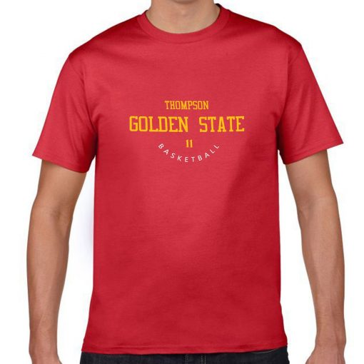 Golden State Warriors 11 Klay Thompson Men s Fans T shirt Women Harajuku Streetwear Funny T 1