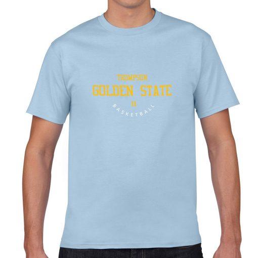Golden State Warriors 11 Klay Thompson Men s Fans T shirt Women Harajuku Streetwear Funny T 2