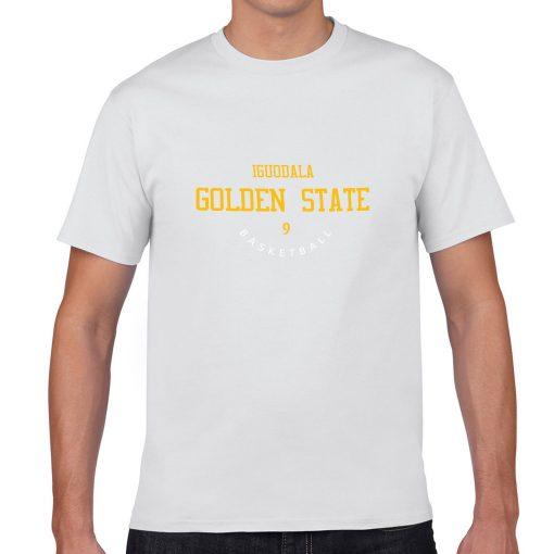 Golden State Warriors 9 Andre Iguodala FMVP Men s Fans T shirt Women Harajuku Streetwear Funny 3