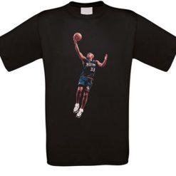 Grant Hill Detroit Phoenix Orlando Basketball T Shirt alle Grosen NEU 3