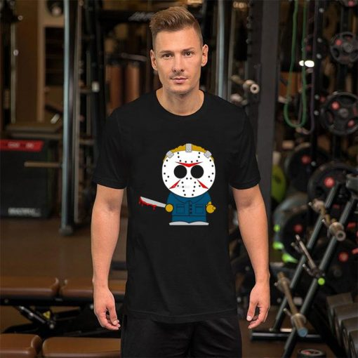 Graphic Friday The 13th tee shirt plus sizes s 102xl Breathable Stand Kawaii homme t shirt 1