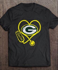 Green Streetwear Harajuku 100 Cotton Bay Men S Tshirt Packers Stethoscope Tshirts