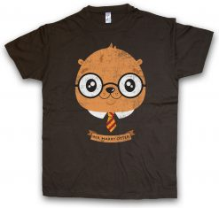 HARRY OTTER T SHIRT Fun Potter Wizard Animal Wildlife Nature Forest Woods