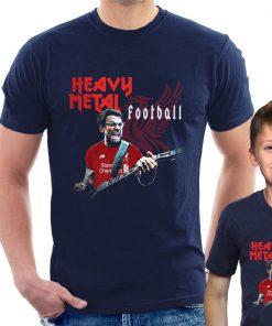 HEAVY METAL FOOTBALL JURGEN KLOPP T SHIRT Liverpool Funny adult kids Tee Cool Casual pride t 1