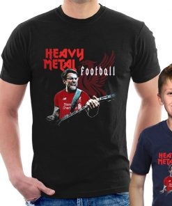 HEAVY METAL FOOTBALL JURGEN KLOPP T SHIRT Liverpool Funny adult kids Tee Cool Casual pride t