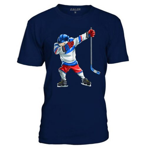 Han Duck Cotton O Neck T Shirts for ice Hockey High quality free shipping Vintage Short 4