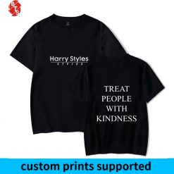 Harry Styles Treat People With Kindness Summer T shirts Women Men Short Sleeve Trendy Printed Tshirts