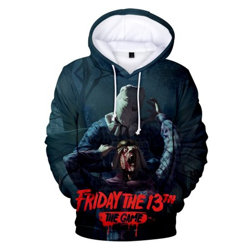 High Quality Friday The 13th The 3D Hoodie Men Women Fashion Casual Game Hoodies Friday The 1