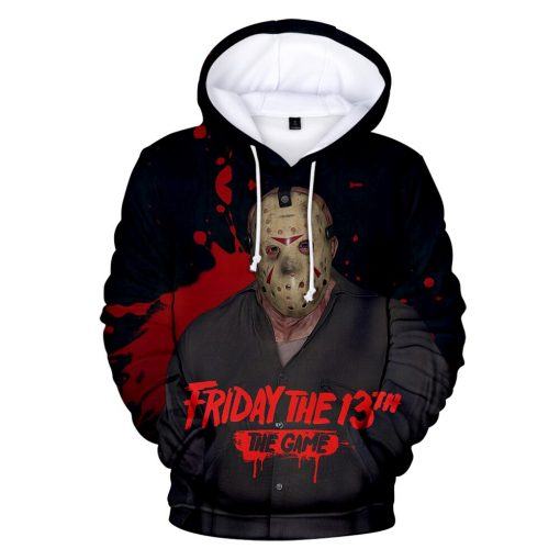 High Quality Friday The 13th The 3D Hoodie Men Women Fashion Casual Game Hoodies Friday The 2
