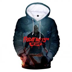 High Quality Friday The 13th The 3D Hoodie Men Women Fashion Casual Game Hoodies Friday The
