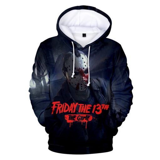 High Quality Friday The 13th The 3D Hoodie Men Women Fashion Casual Game Hoodies Friday The 3