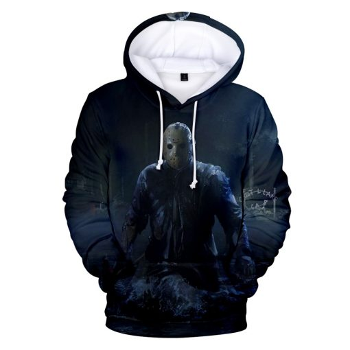 High Quality Friday The 13th The 3D Hoodie Men Women Fashion Casual Game Hoodies Friday The 5