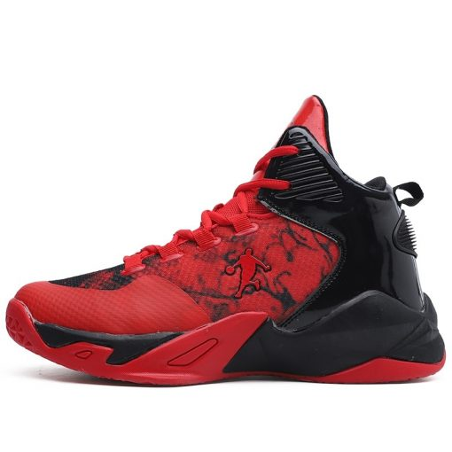 High top Basketball Shoes Men Cushioning Light Jordan Basketball Sneakers Anti skid Breathable Outdoor Sports Men 1