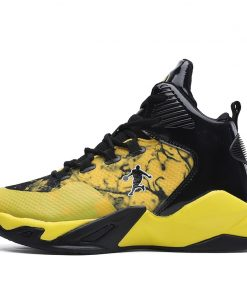 High top Basketball Shoes Men Cushioning Light Jordan Basketball Sneakers Anti skid Breathable Outdoor Sports Men 2