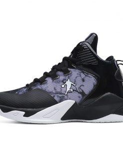 High top Basketball Shoes Men Cushioning Light Jordan Basketball Sneakers Anti skid Breathable Outdoor Sports Men 3